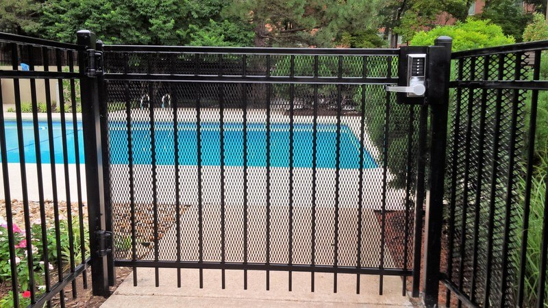 4ft Montage Pool Gate Mac S Fence